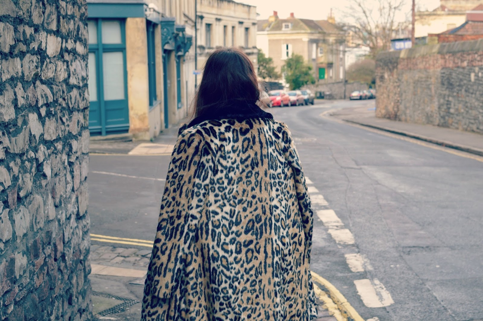 topshop leopard print coat fashion blogger