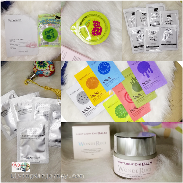 Freebies during Althea Korea Birthday Month