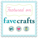 I'm Featured On FaveCrafts!