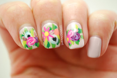 Flower Crown Nails