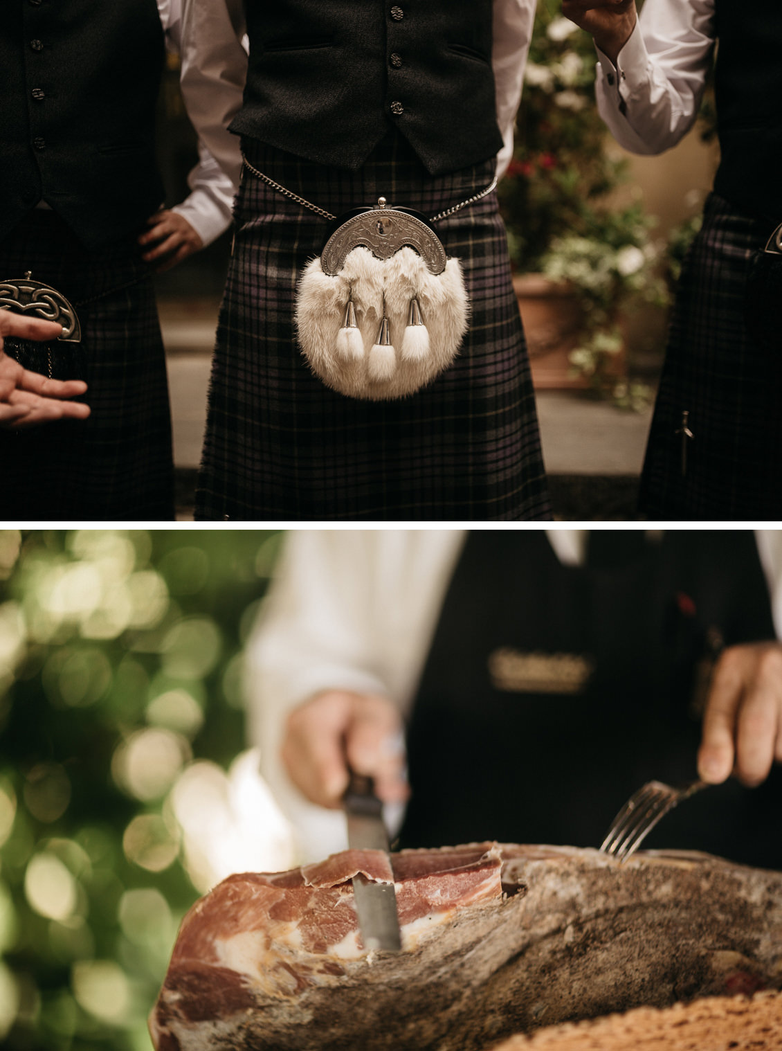 scottish wedding in tuscany