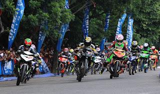 Hasil Lomba Kejurnas Motoprix Seri 1 Region 2 Purwokerto 2018