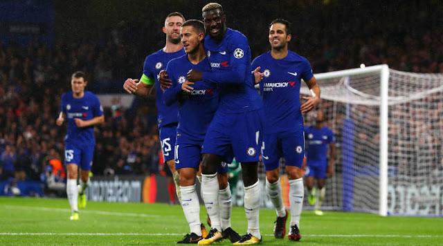 Jadwal Prediksi Bola Chelsea vs AS Roma 19 Oktober 2017