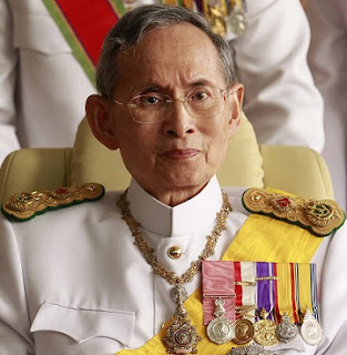 Thailand's King, Bhumibol Adulyadej,