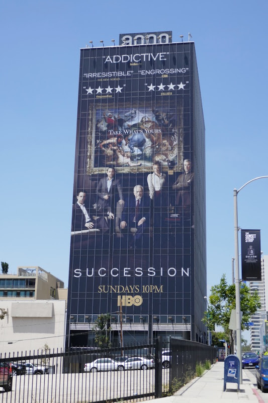 Giant Succession season 1 billboard