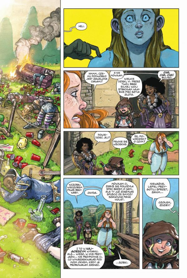 Rat Queens tom 4 przykładowa strona