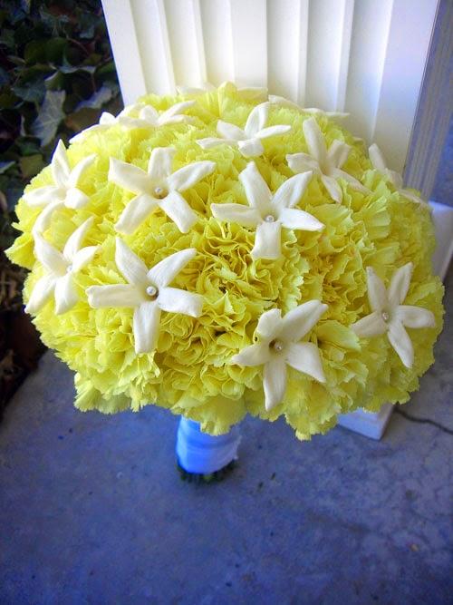 Carnation Wedding Bouquets