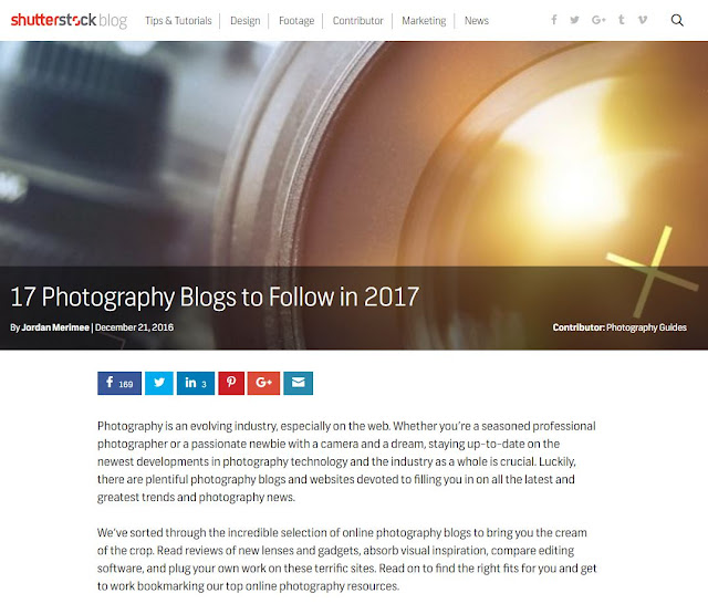 17 Photography Blogs to Follow in 2017
