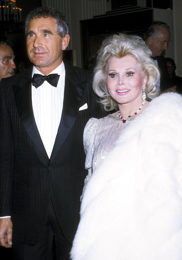 Zsa Zsa Gabor and Frédéric Prinz von Anhalt (Photo by Ron Galella/WireImage)
