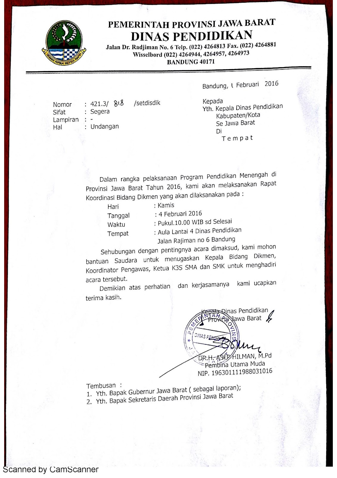 64 Download Kop Surat Dinas Pendidikan Provinsi Jawa Timur Pdf Doc 2019