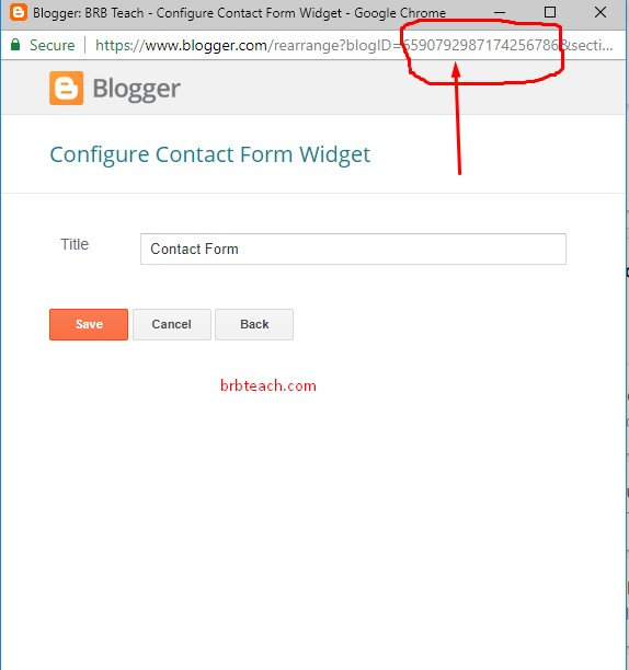 How to Add Contact Form in Blogger