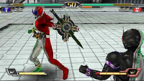 Kamen Rider Climax Heroes OOO PSP