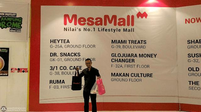 MesaMall, Mesahill Premier Sales Gallery, Khir Khalid,
