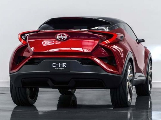 Release Toyota C-HR UP-to-Date 2017
