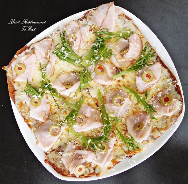 Brotzeit Bier and Bar Sunway Pyramid Oktoberfest 2016 Kassler Flade - Smoked Pork Loin Pizza