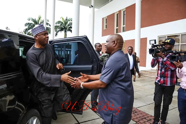 What Saraki did in Rivers