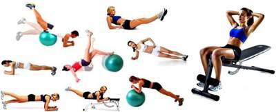 Ejemplos de ejercicios para trabajar los abdominales y dorsales en tu rutina de ejercicios