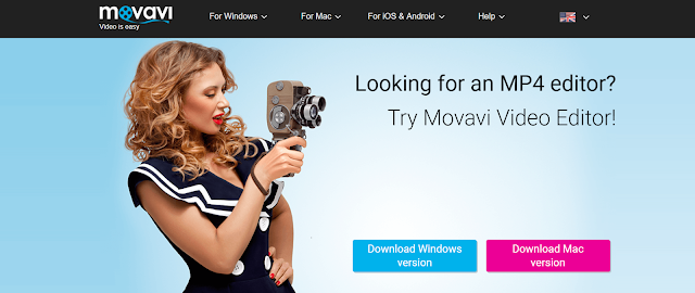 Editing MP4 Videos with Movavi Video Editor