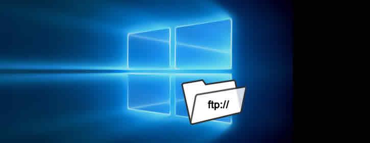 Acessar FTP pelo explorador de arquivos no Windows 10