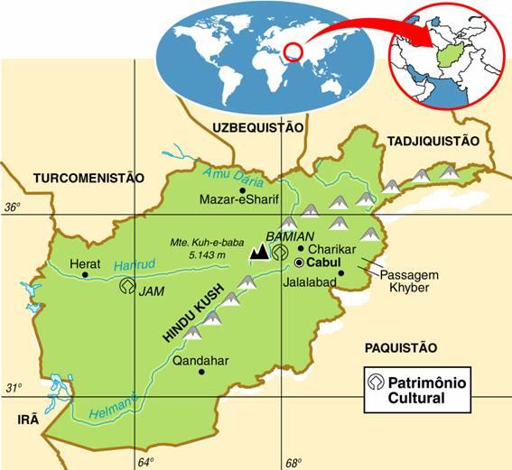 Afeganistão | Aspectos Geográficos e Socioeconômicos do Afeganistão