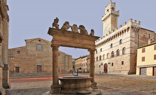 Pontos turísticos em Montepulciano
