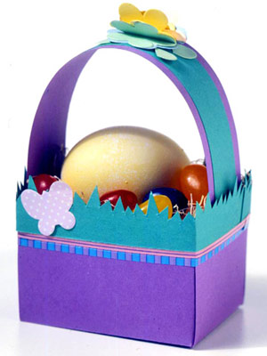 Canasta Para Huevos Manualidades.Canastas De Pascua Manualidades Cositasconmesh