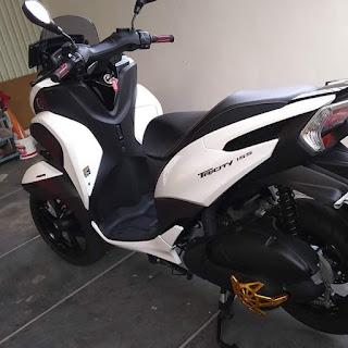 Dijual Yamaha Tricity 155 ABS FP