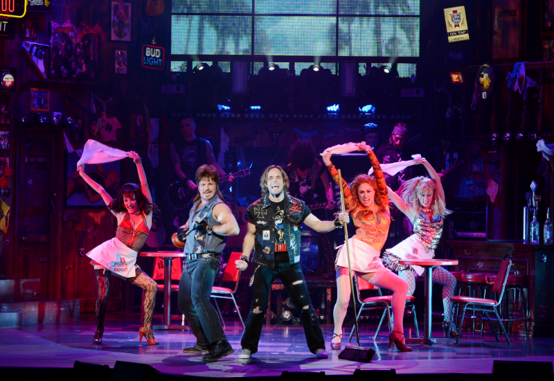 Show Rock of Ages em Las Vegas
