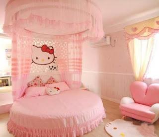 Gambar Ranjang Hello Kitty 10