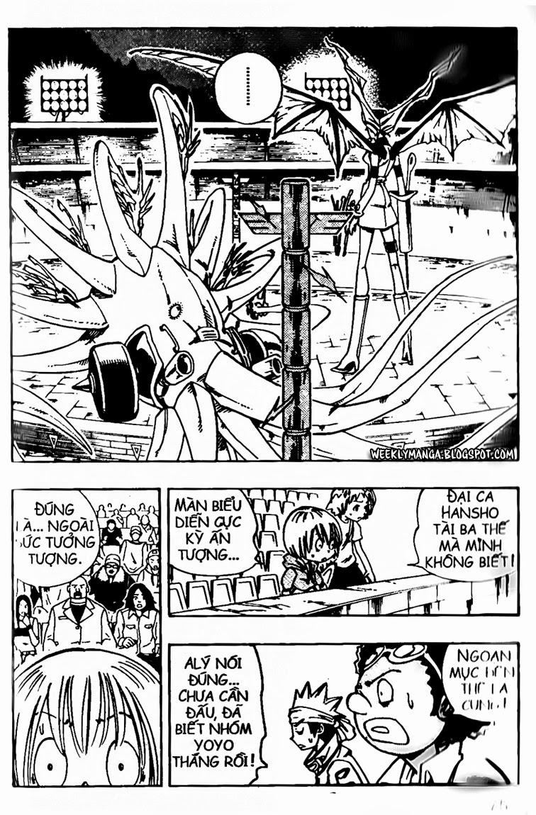 Shaman King [Vua pháp thuật] chap 133 trang 5