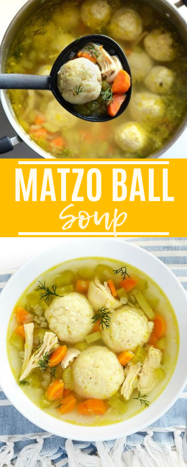 Matzo Ball Soup #dinner #soup