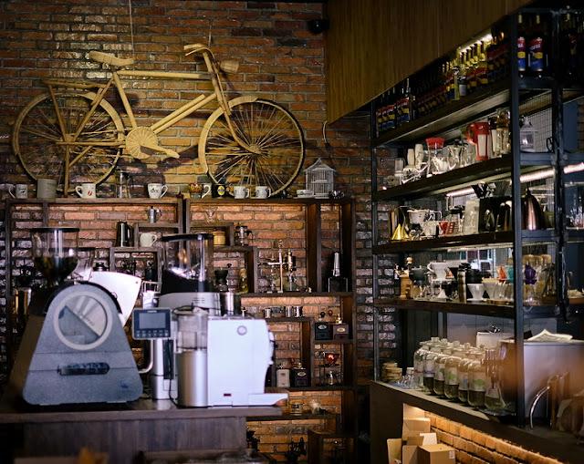 Desain Cafe Kopi Menarik