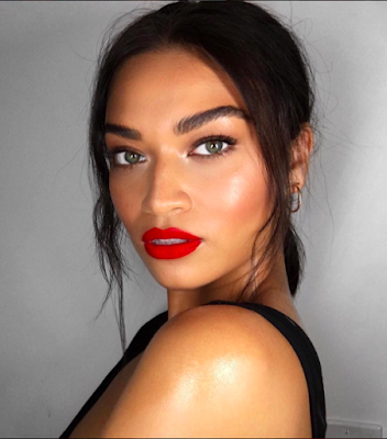 shanina sheikh, patrick ta, makeup, beauty, summer, Instagram, trending, hack, red lips