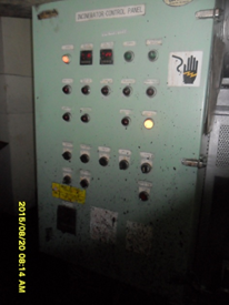 MV. Kartini Baruna Incinerator System Panel