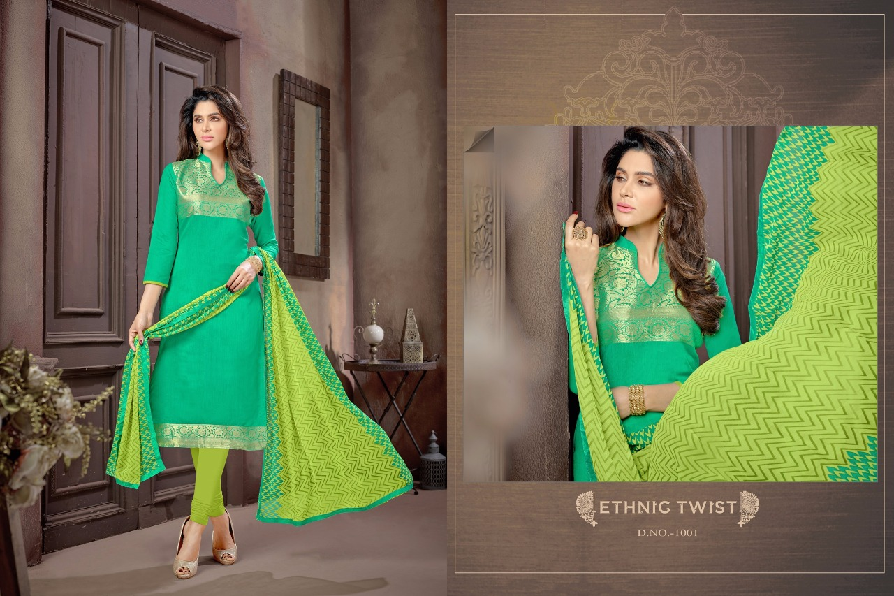 Zarana SILK-New Arrival Banarsi Jecquard Dress Material
