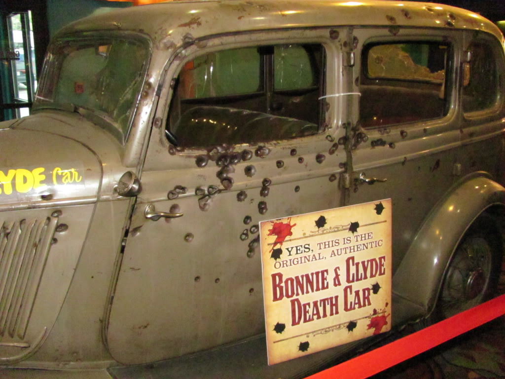 Bonnie And Clyde Car Location: The Splendor Of Militaria And Weaponry..