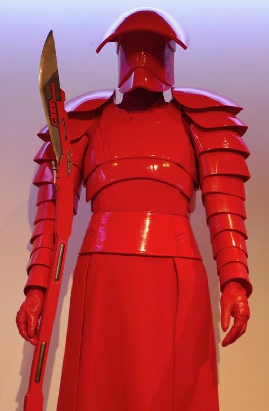 Star Wars Last Jedi Praetorian Guard costume