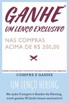 Ganhe Lenço Hering - Blog Top da Promoção #topdapromocao #HeringOficial #Hering #HeringKids