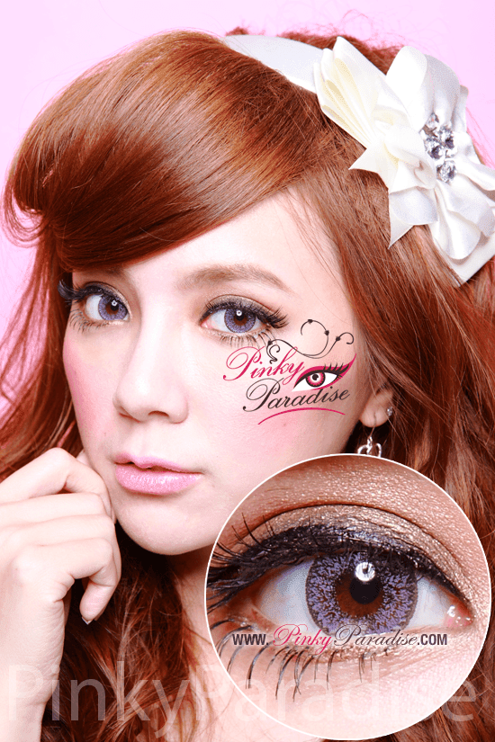 Geo Nudy Violet Circle Lenses (Colored Contacts)