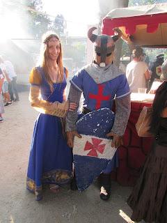 DIY costura: vestido medieval con capa feira franca
