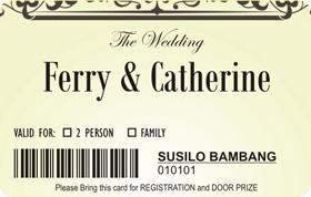 17 Undangan Pernikahan Unik Melalui Media Sosial Undangan Lewat