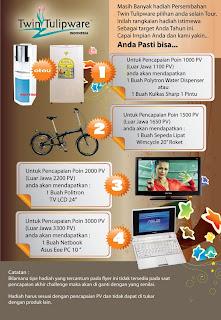 Fantastic Challenge 2011, Polytron Water Dispenser/Kulkas Sharp, Sepeda Lipat Wimcycle, Polytron TV LCD 24, Netbook Asus