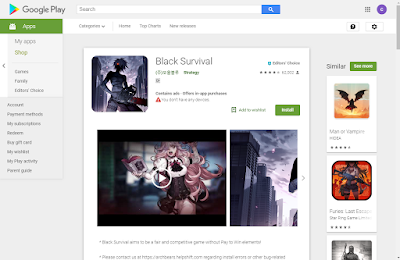 Black Survival For PC