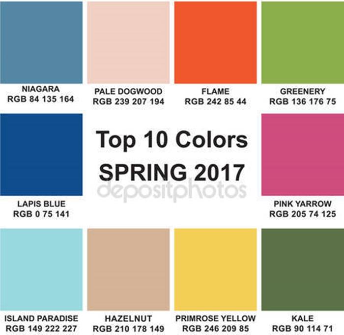 Pantone Fashion Color