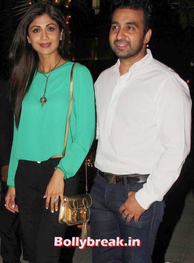 Shilpa Shetty and Raj Kundra, Bipasha Basu, Shilpa Shetty at Yauatcha Restaurant