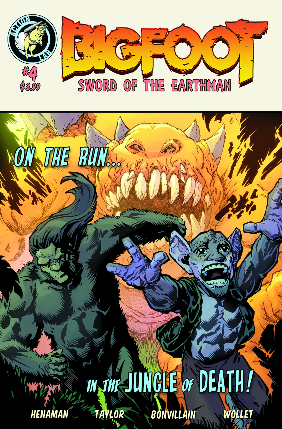Bigfoot - Sword of the Earthman: January 2016Bigfoot Comic