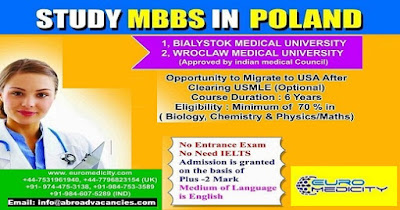 MEDICAL UNIVERSITY OF LUBLIN - MBBS ADMISSION STARTED -APPLY NOW
