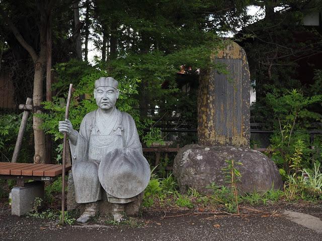 富士みち 田原の滝 桂川 松尾芭蕉