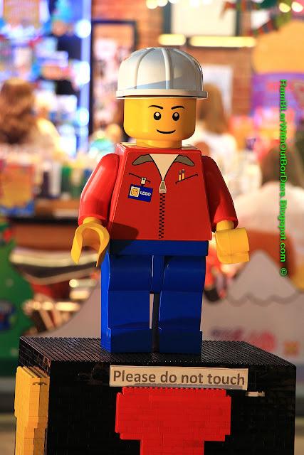 Lego toy, Greenbelt shopping mall, Makati, Manila, the Philippines