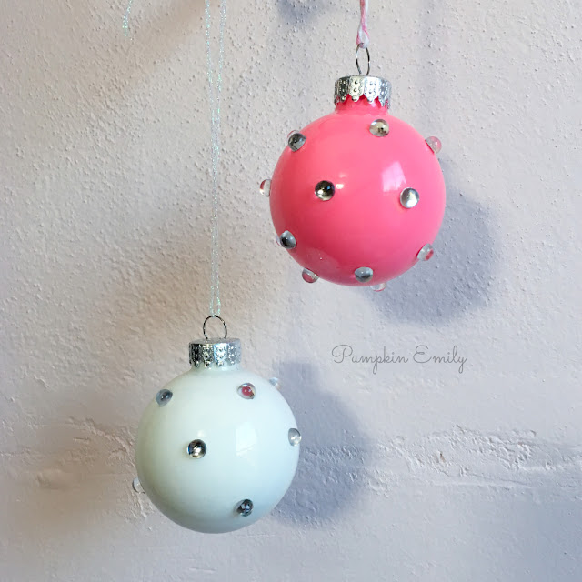 DIY Jewel Ornaments